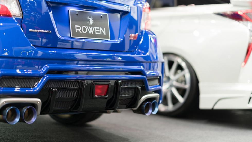 Subaru WRX STI Rowen International paragolpes trasero