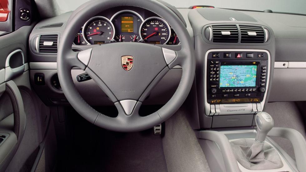 coches-vendían-cambio-manual-Porsche-Cayenne-cambio