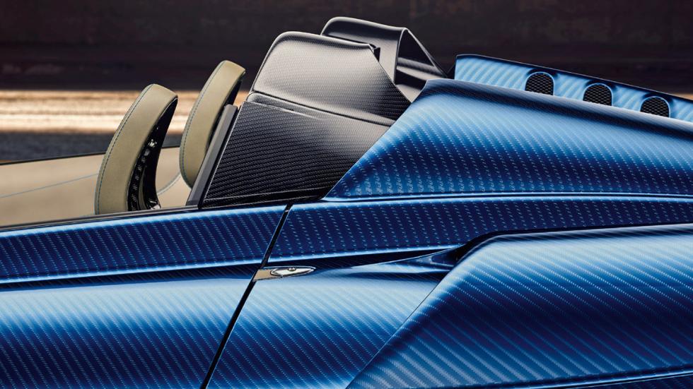 Pagani Huayra Roadster detalle pilar B