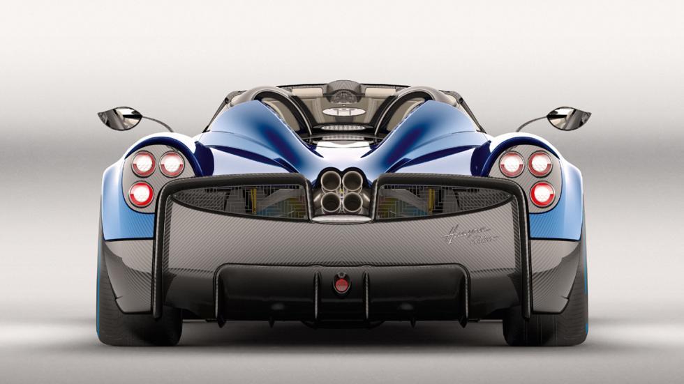 Pagani Huayra Roadster trasera estudio