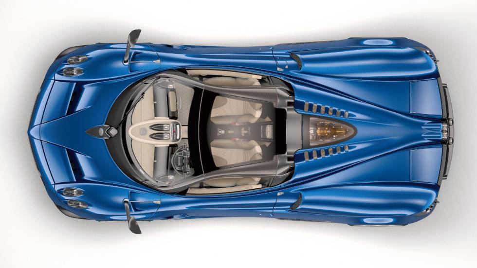 Pagani Huayra Roadster superior estudio