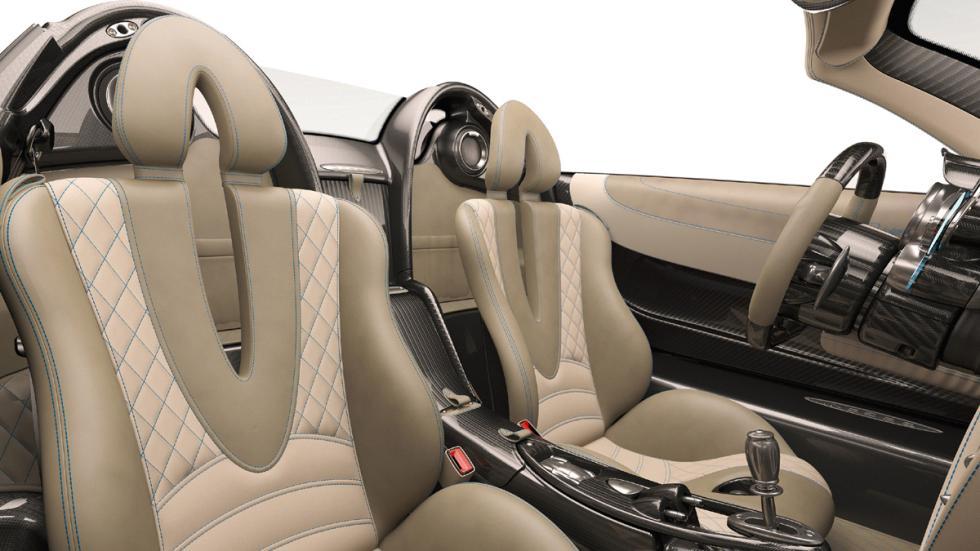 Pagani Huayra Roadster asientos