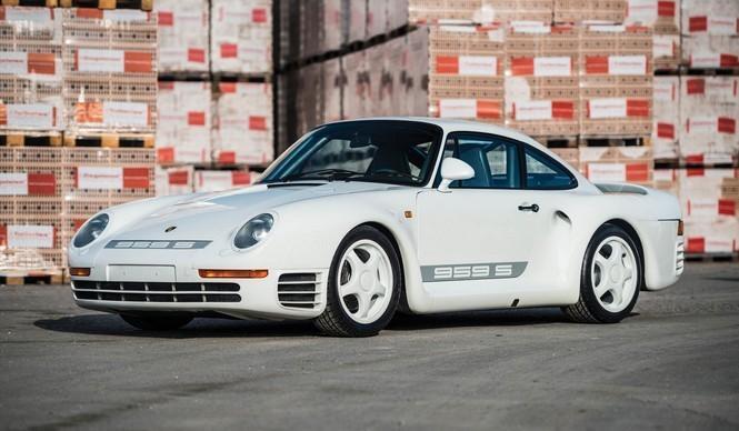 Porsche 959 subastado