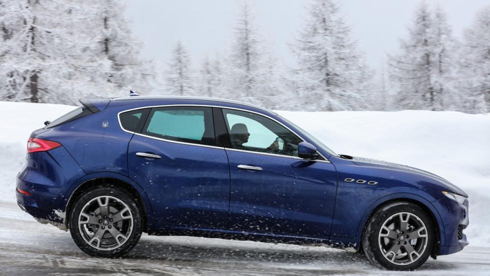 Prueba Maserati Levante S, lateral