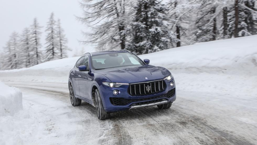 Prueba Maserati Levante S, dinámica