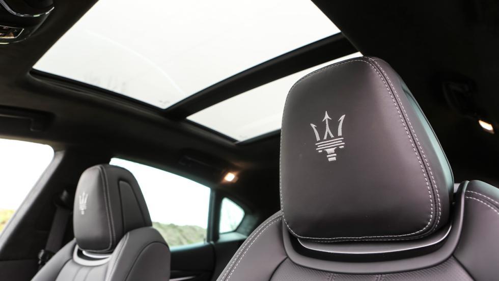 Prueba Maserati Levante S, detalle asientos