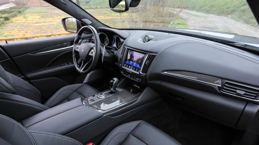 Prueba Maserati Levante S, habitáculo