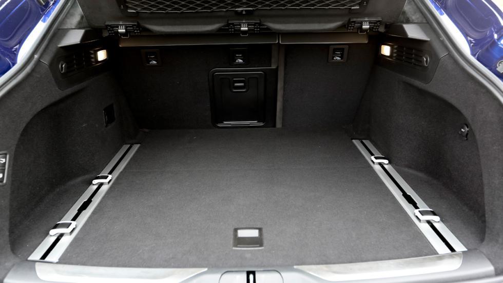 Prueba Maserati Levante S, maletero