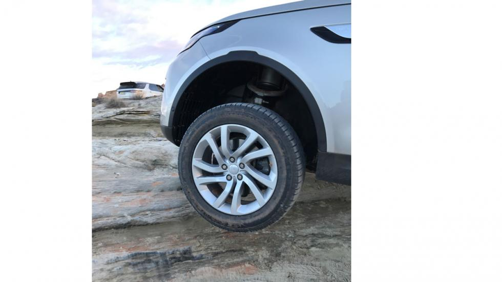 prueba land rover discovery 2017 offroad