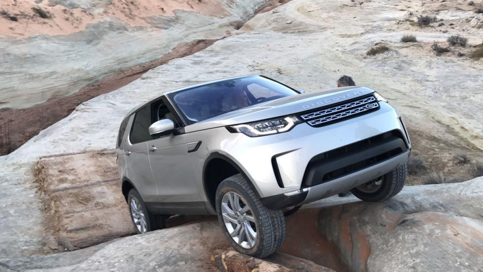 prueba land rover discovery 2017 dinámica offroad