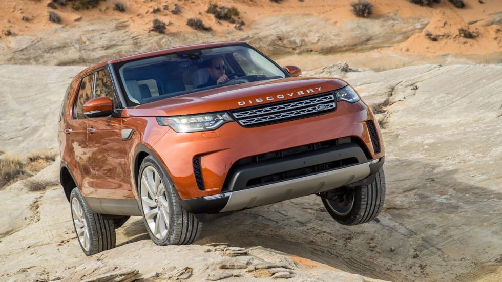 prueba land rover discovery 2017 capacidad offroad