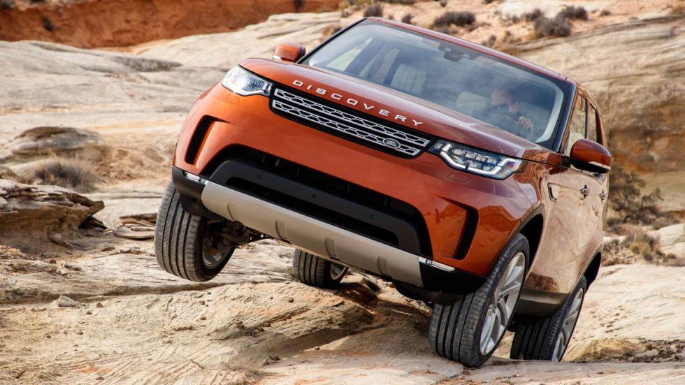 prueba land rover discovery 2017 terrain response