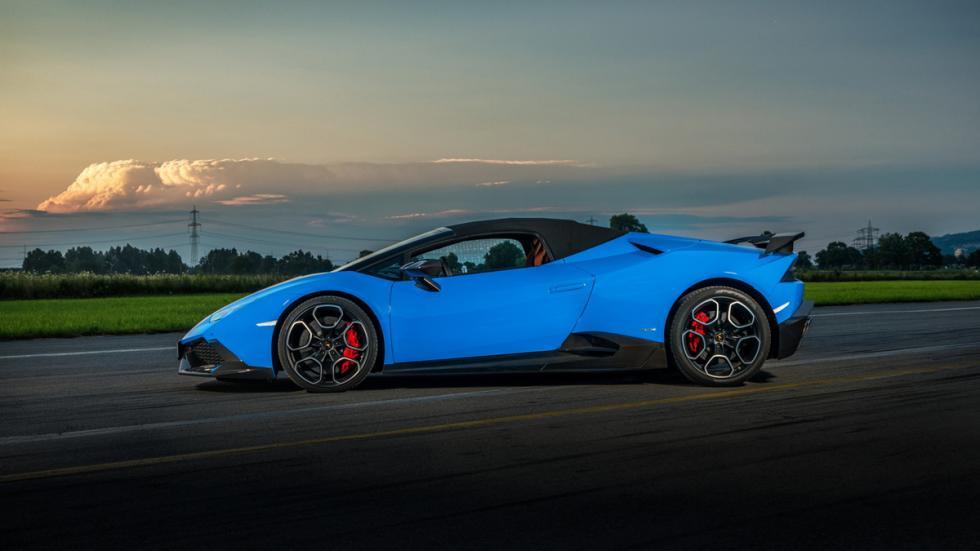 Lamborghini Huracán Spyder O.CT TUNING lateral delantera