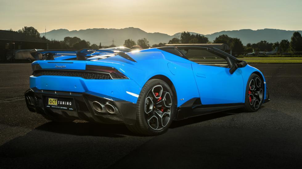 Lamborghini Huracán Spyder O.CT TUNING trasera lateral