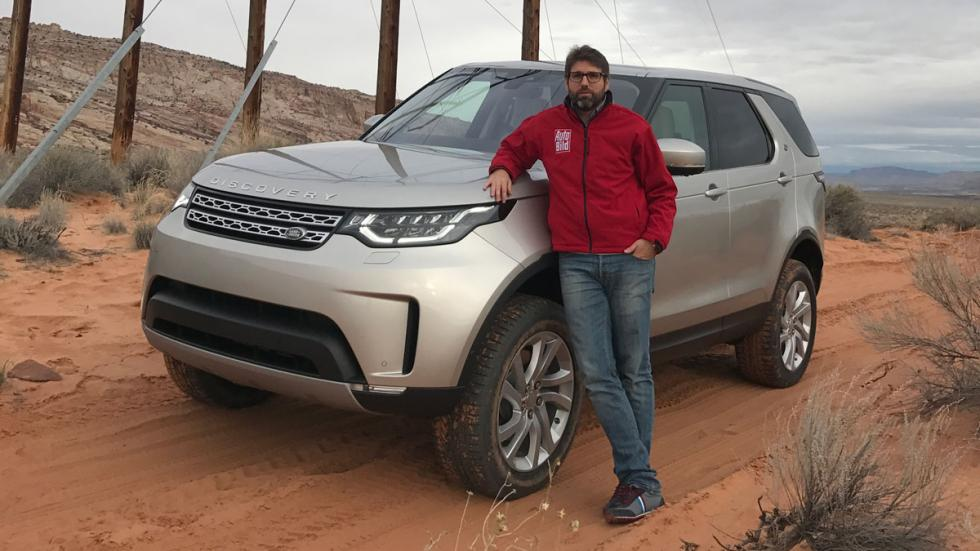 prueba land rover discovery 2017 autobild
