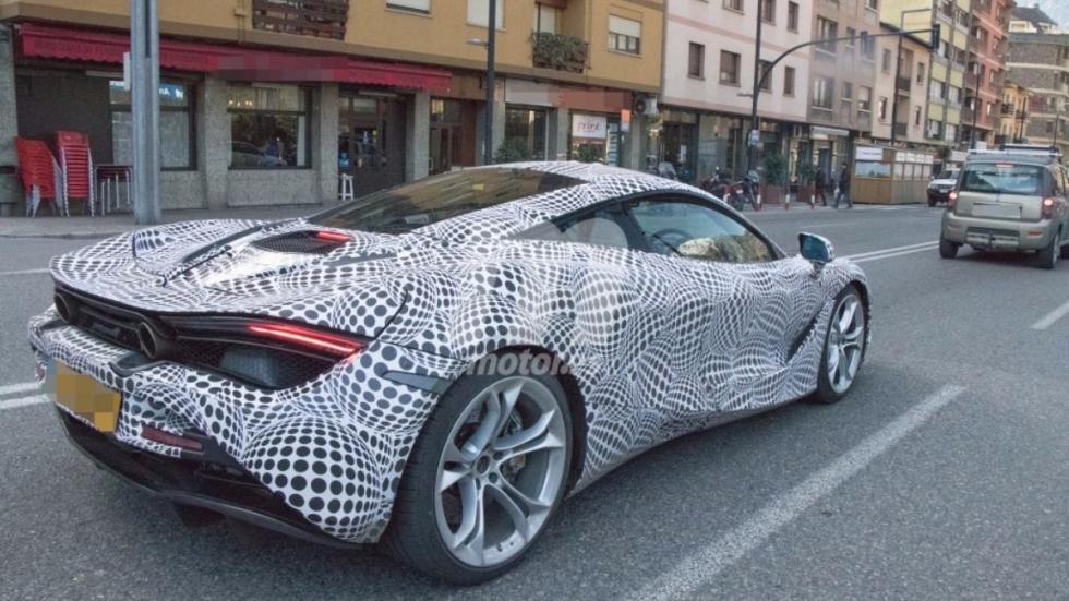 McLaren 720S fotos espia