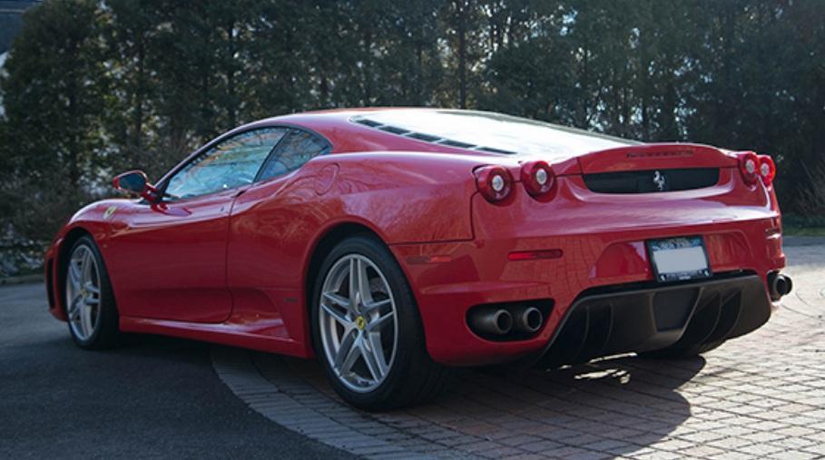El Ferrari F430 de Donald Trump