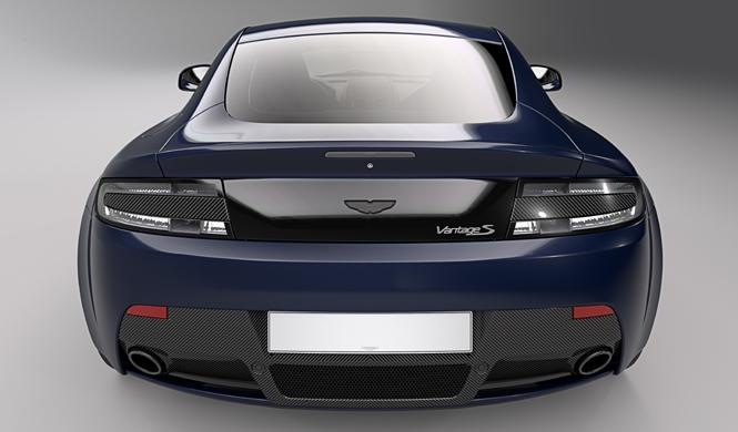 Aston Martin Vantage Red Bull Racing Edition trasera