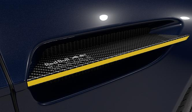Aston Martin Vantage Red Bull Racing Edition detalle lateral