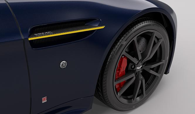 Aston Martin Vantage Red Bull Racing Edition detalle llanta