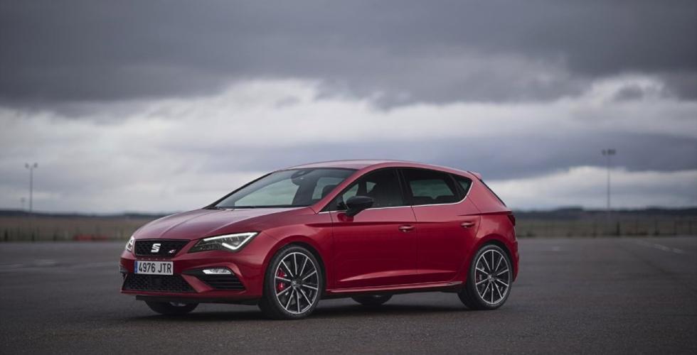 Seat León Cupra 2017 estática frontal