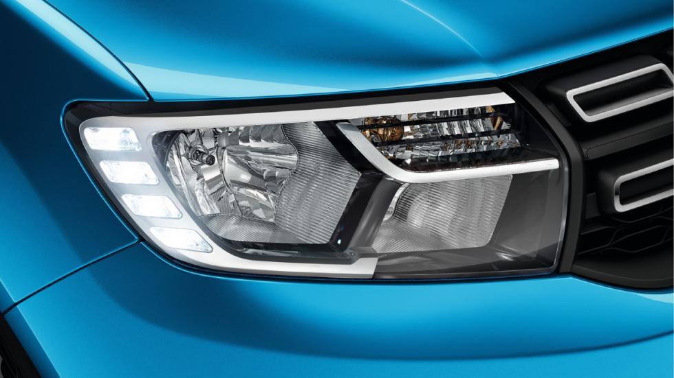 Dacia Logan MCV Stepway detalle faro