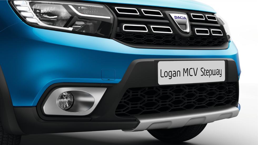 Dacia Logan MCV Stepway detalle parachoques delantero