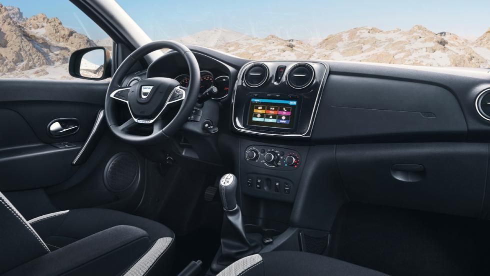 Dacia Logan MCV Stepway habitáculo