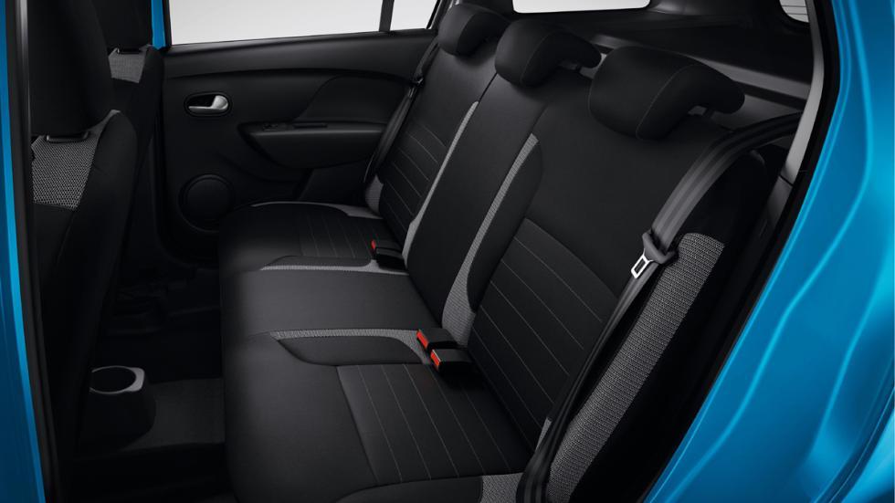 Dacia Logan MCV Stepway asientos traseros