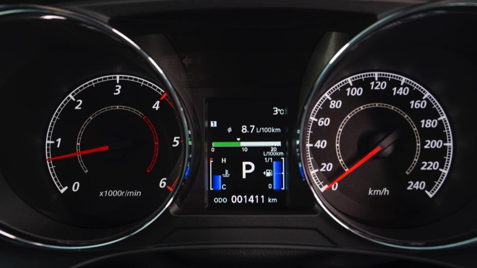 Mitsubishi ASX 2017 cuadro de mandos