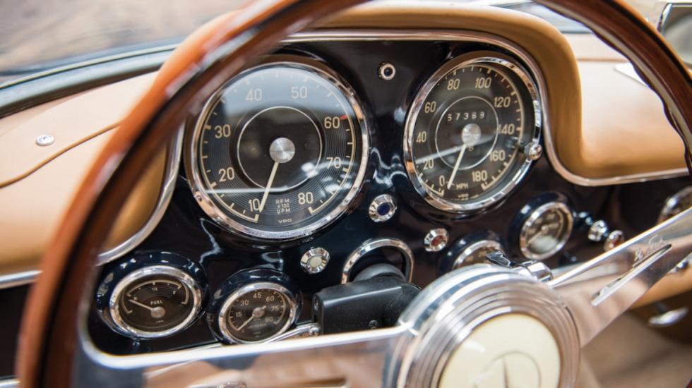 Subasta Mercedes 300 SL Gullwing 1954