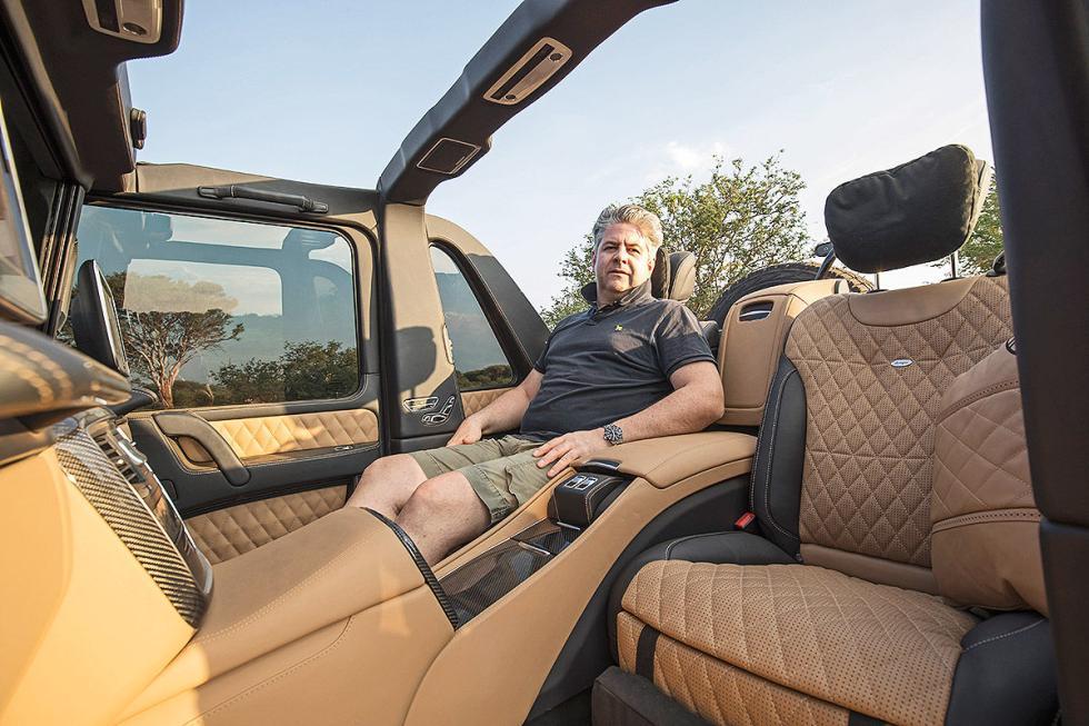 Nos subimos al Mercedes-Maybach G 650