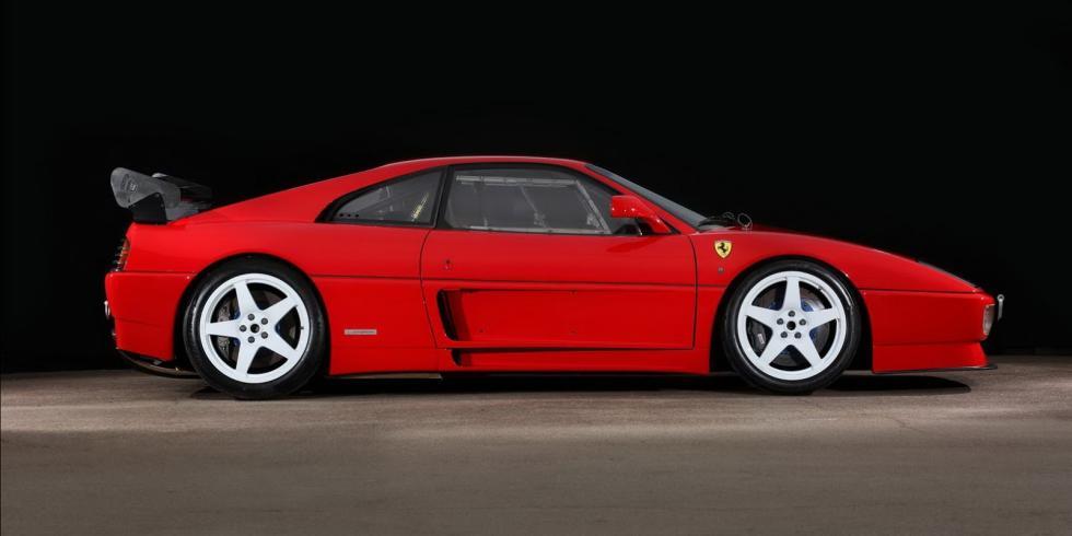 Ferrari 348 LM 1992 lateral