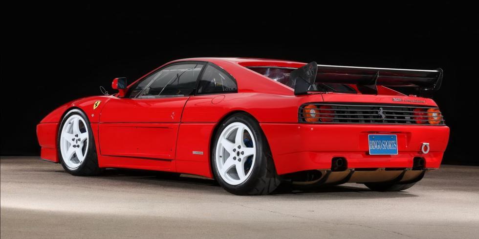 Ferrari 348 LM 1992 tres cuartos traseros