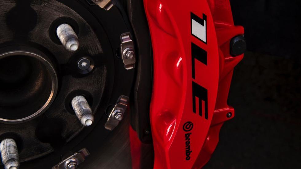 Chevrolet Camaro ZL1 1LE pinzas de freno