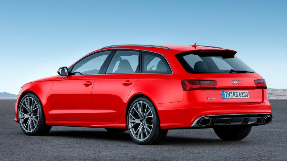 Audi RS6 Performance familiar deportivo rojo