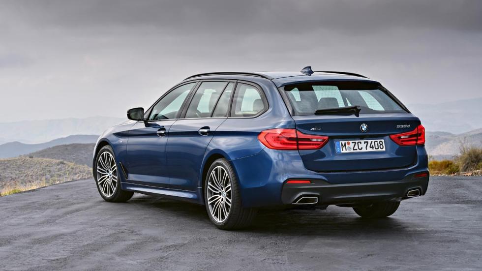 BMW Serie 5 Touring 2017 familiar lujo