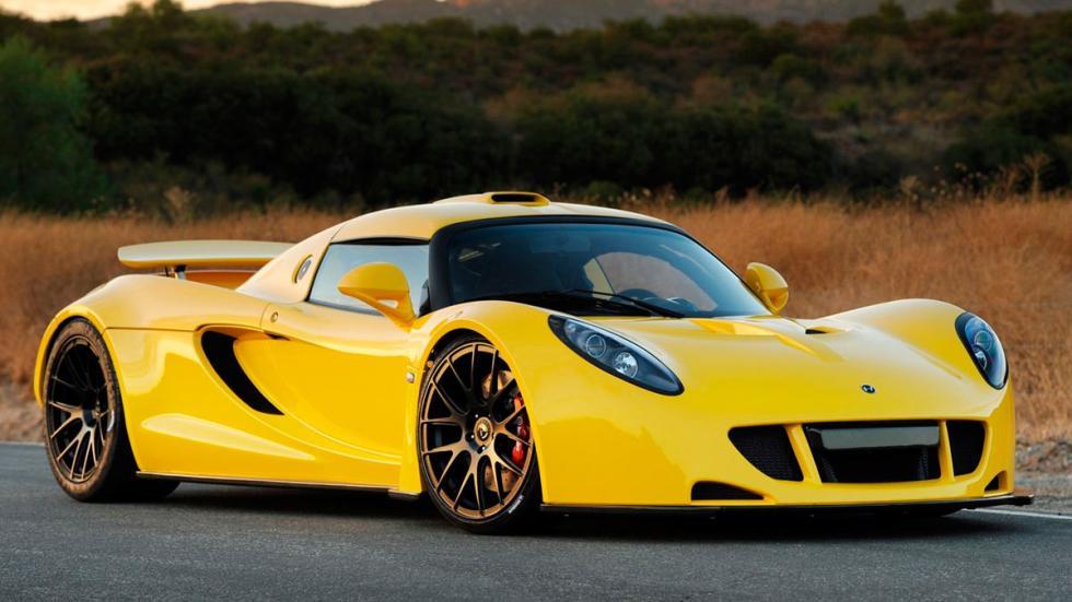 Hennessey Venom GT amarillo 0 a 160 km/h