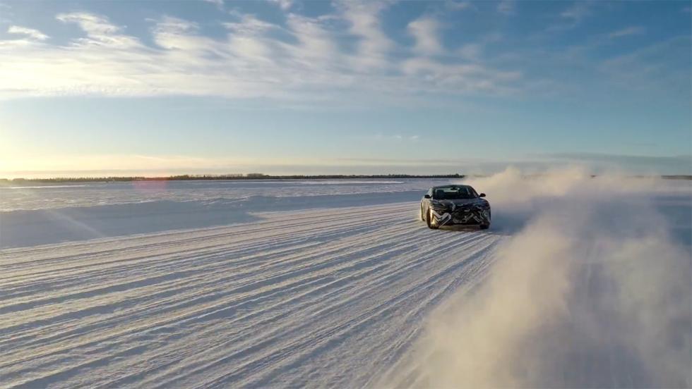 Lucid Air, test sobre nieve