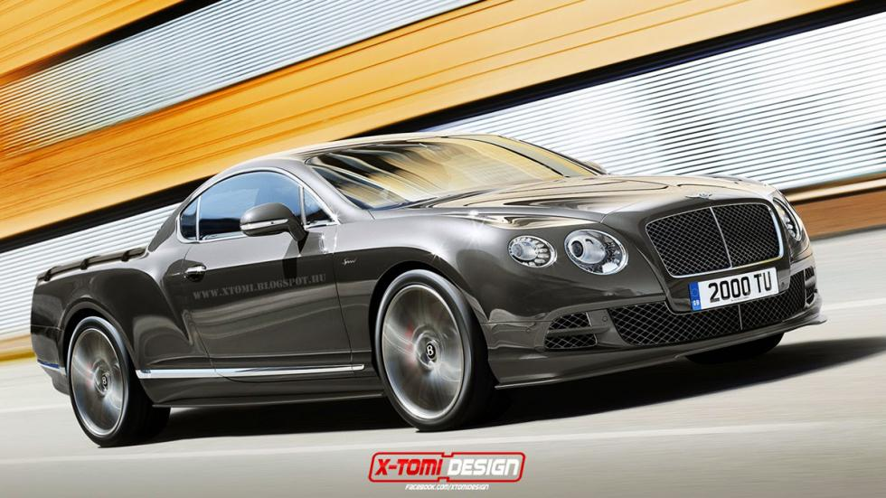 10 deportivos transformados pick-up Bentley Continental GT