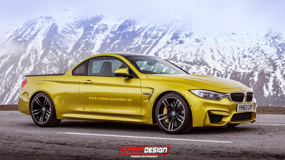10 deportivos transformados pick-up BMW M4 Coupé