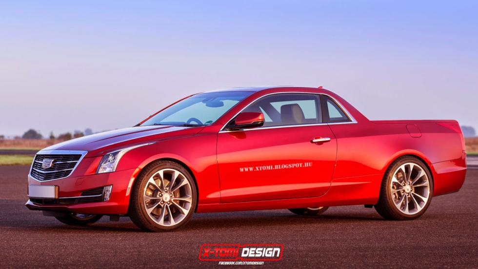 10 deportivos transformados pick-up Cadillac ATS Coupé