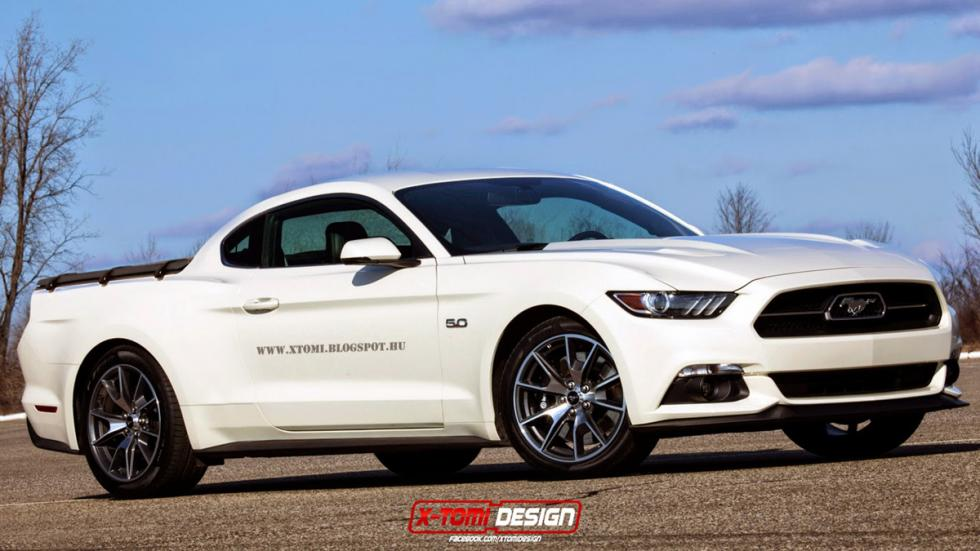 10 deportivos transformados pick-up Ford Mustang GT