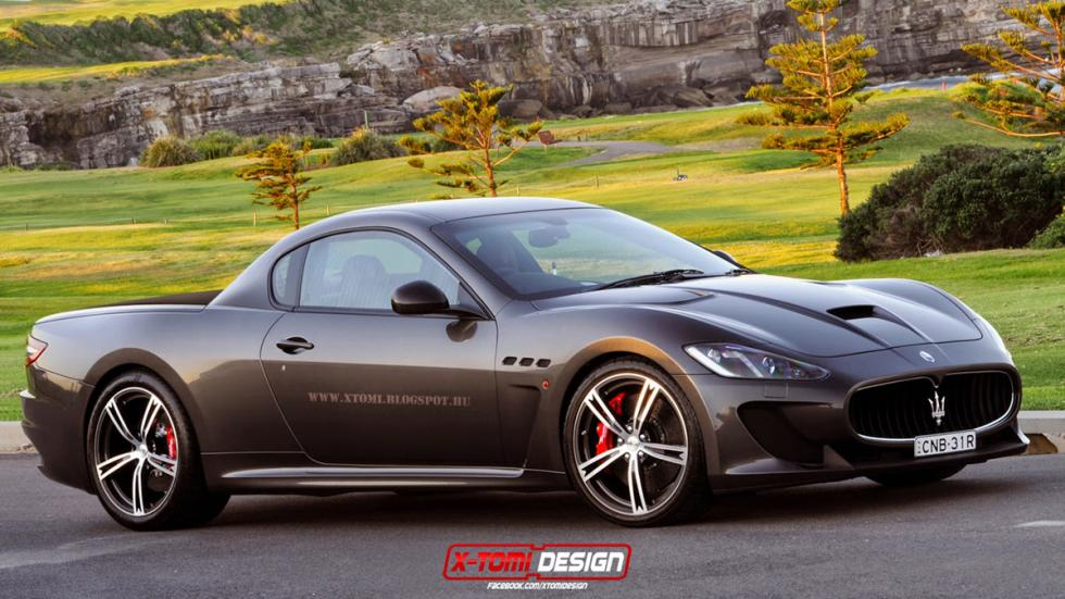 10 deportivos transformados pick-up Maserati GranTurismo MC Stradale