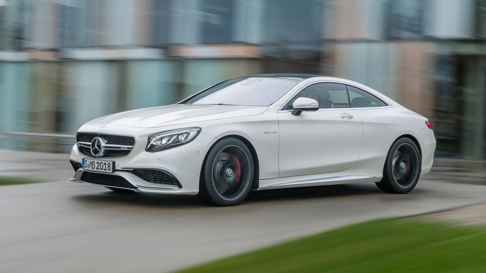 10 deportivos transformados pick-up Mercedes-AMG S63 Coupé original