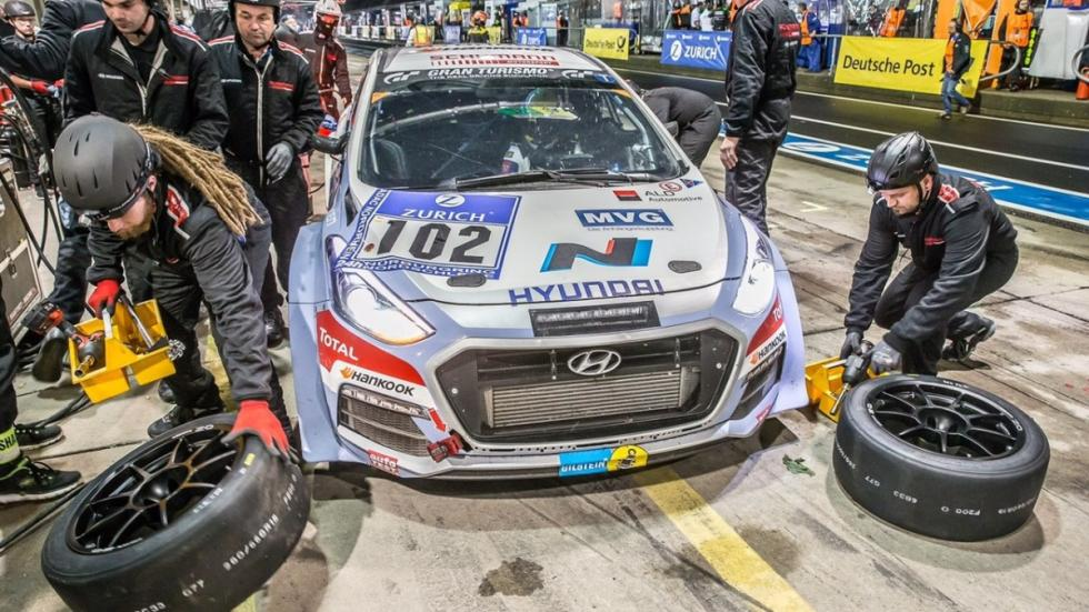 Hyundai i30 N en Nürburgring