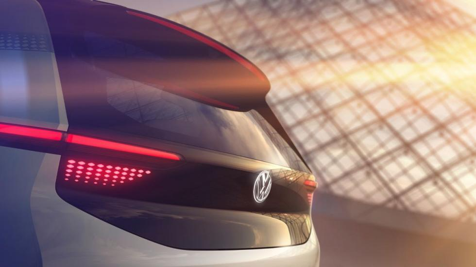Volkswagen eléctrico trasera