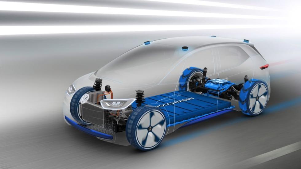 Volkswagen I.D chasis