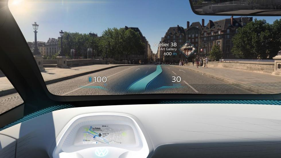 Volkswagen I.D head-up display