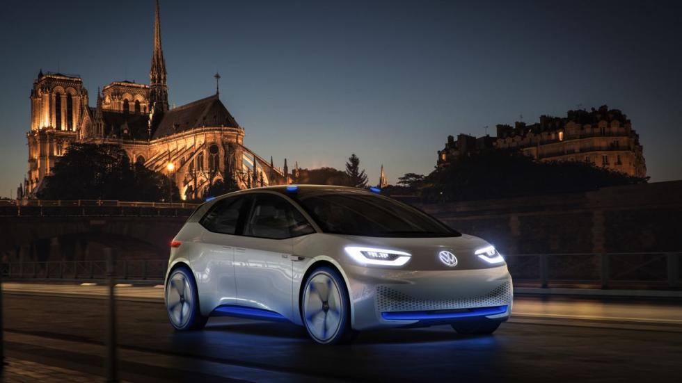 Volkswagen I.D tres cuartos